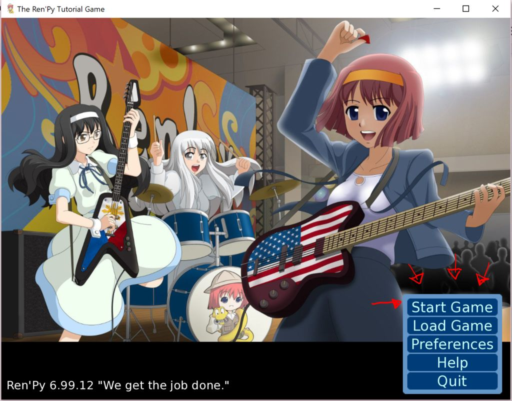 Visual Novel Maker Tutorial Using Ren\'Py: 5 Steps.