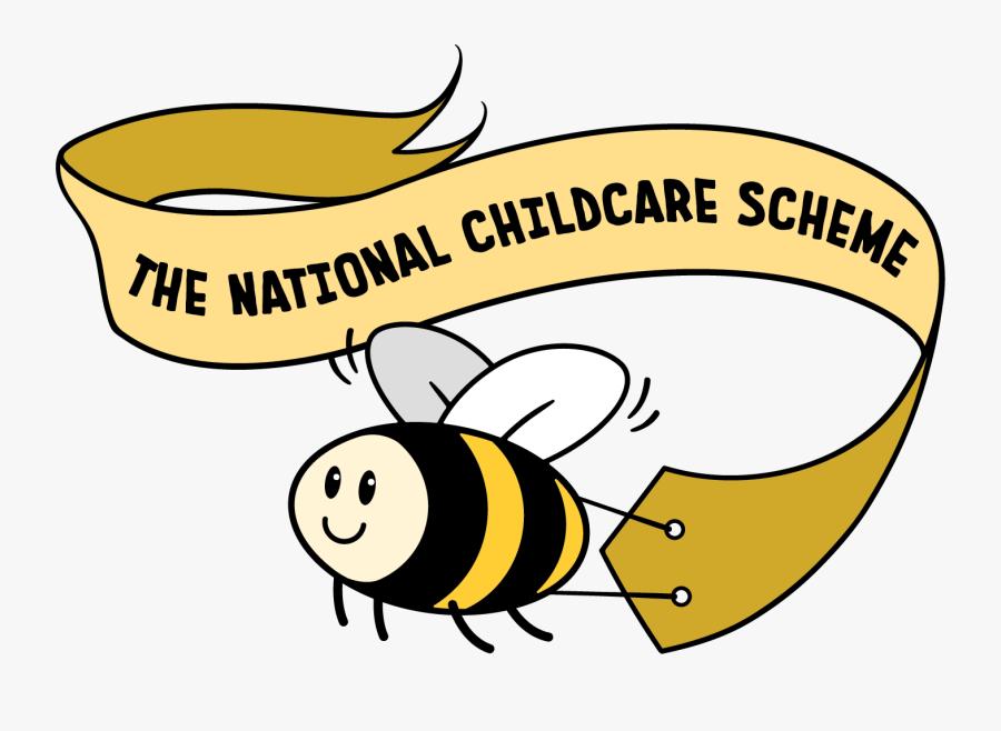 Bee Banner National Childcare Scheme.