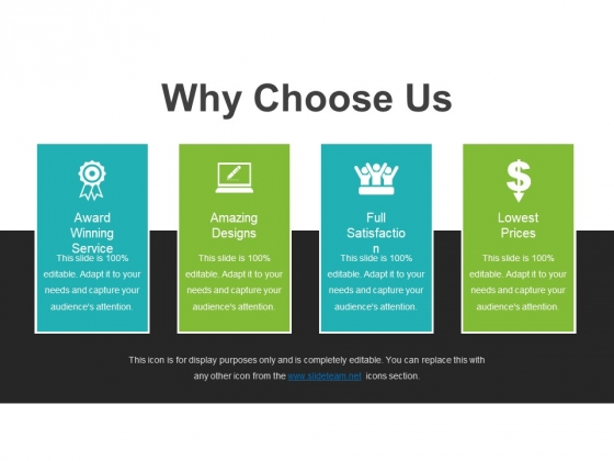 Why Choose Us Template 2 Ppt PowerPoint Presentation.