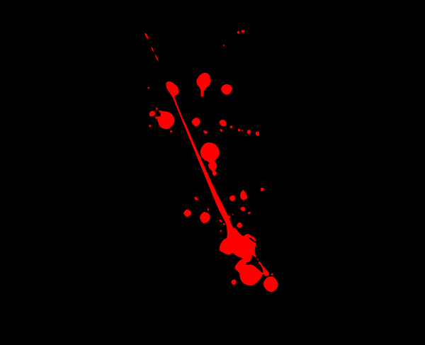 Red With Black Background Clip Art at Clker.com.