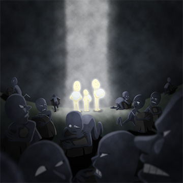 Christian clipArts.net _ Everyone who does evil hates the light.