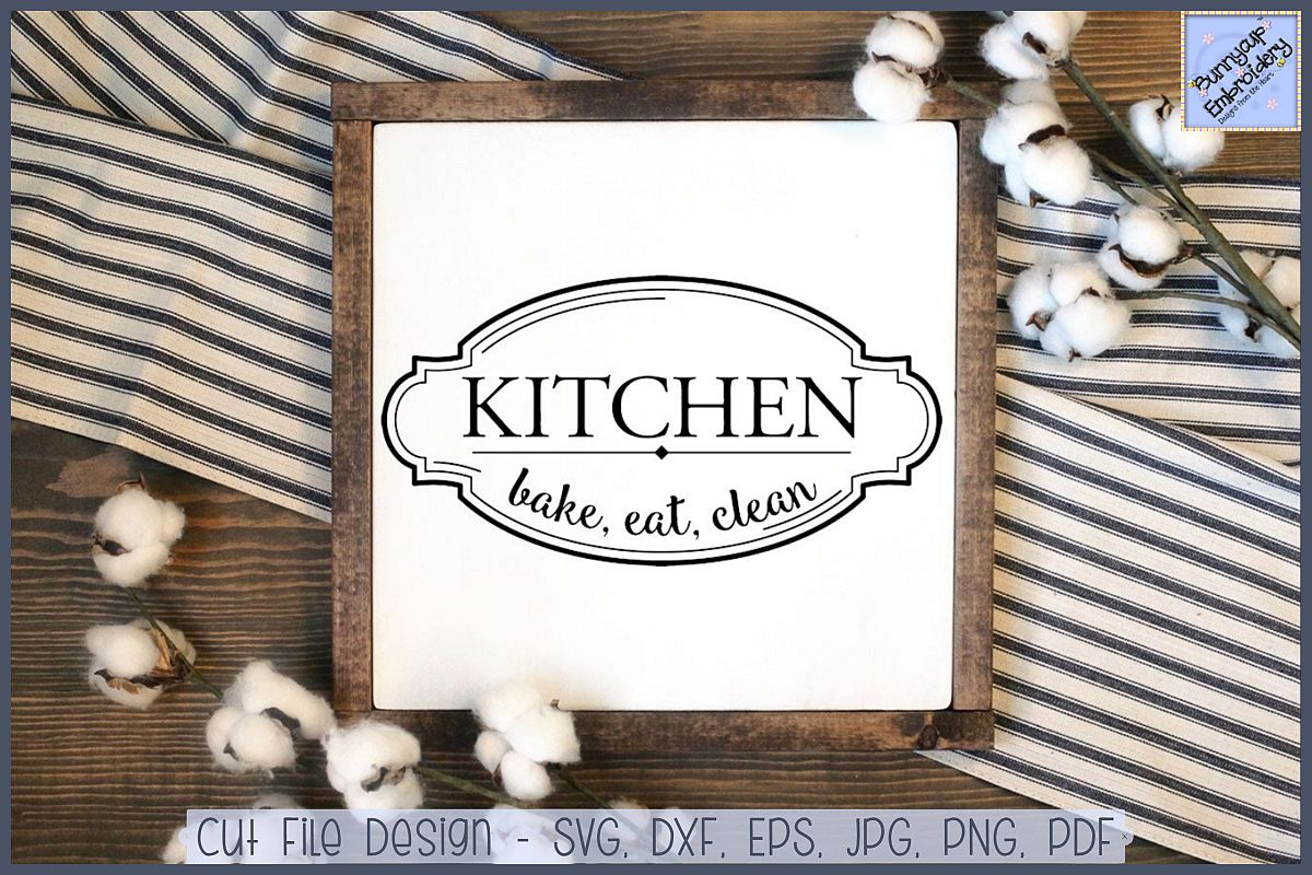 Farmhouse Kitchen Bake Eat Clean.