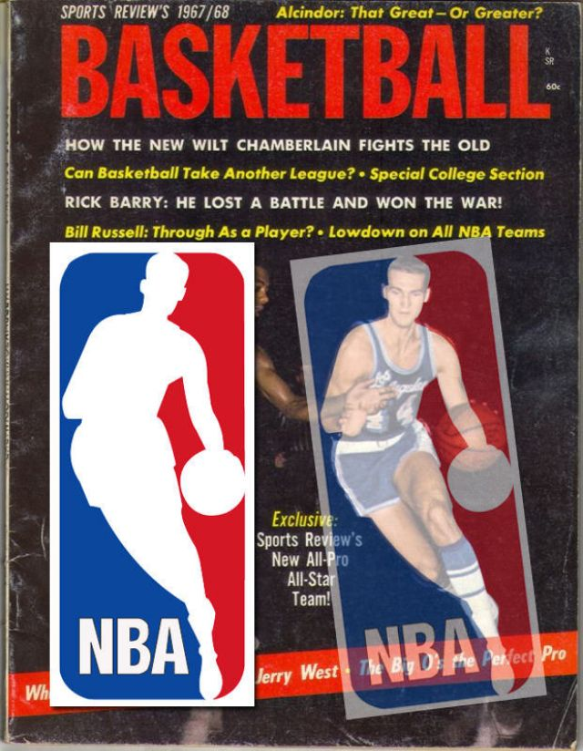 The story of the NBA logo.