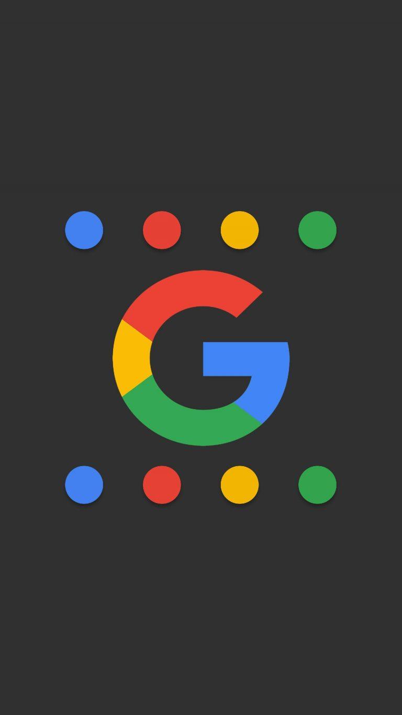 Google Logo Minimal Background HD Wallpaper.