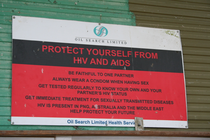HIV remains critical threat in Papua New Guinea.