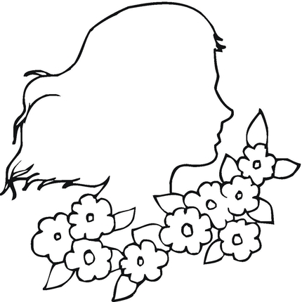 clip art flowers outline ~ Bred Southern Of Me.