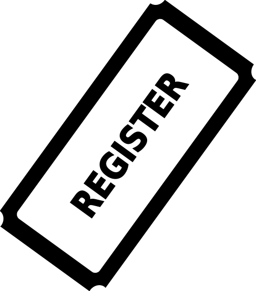 Tickets clipart registration, Tickets registration.