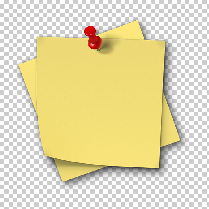 Sticky notes PNG clipart.