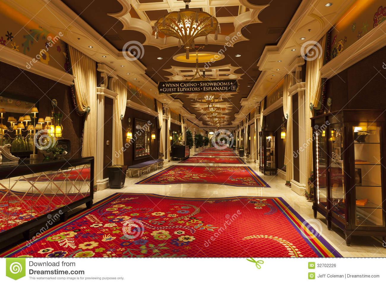 Las Vegas , Wynn Hotel Editorial Photo.