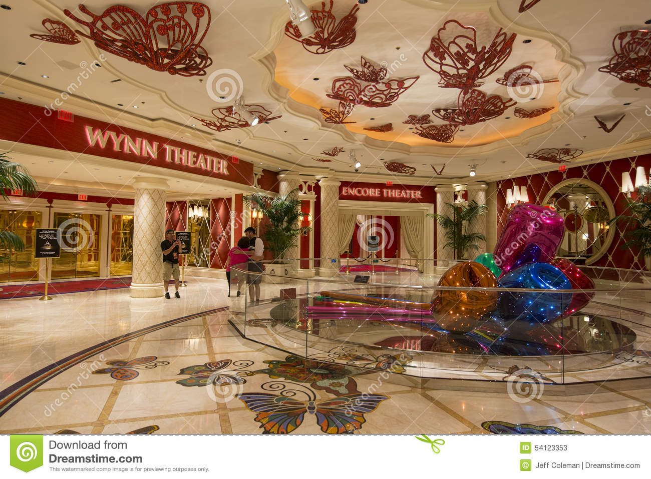 Las Vegas Wynn Hotel Stock Photos, Images, & Pictures.