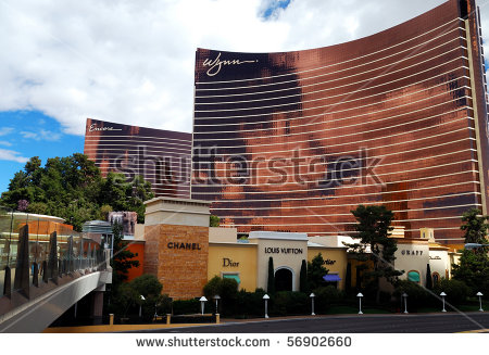 Wynn Las Vegas Stock Images, Royalty.