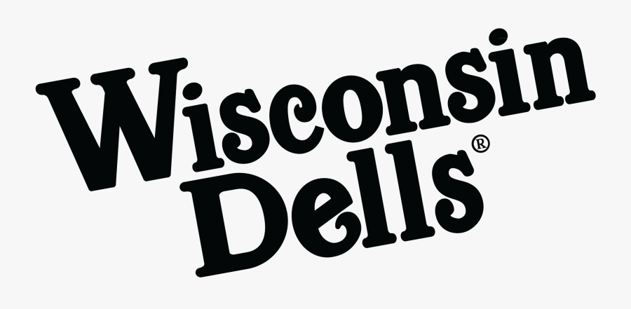 Wisconsin Dells Black And White , Free Transparent Clipart.
