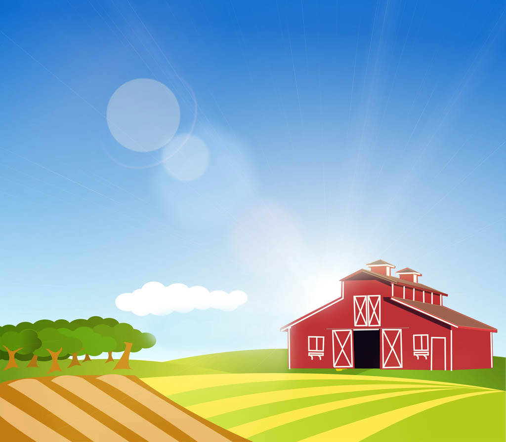 Free download Farm Background Clipart Clipartsco [1024x896.