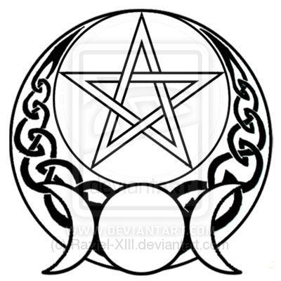 400x400 Wiccan Clipart Pentacle.