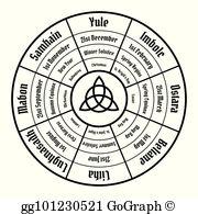Wicca Clip Art.