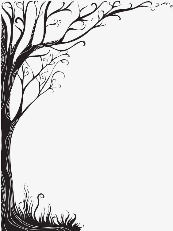 Vines, Black Vines, Decorative Material, Tree PNG.