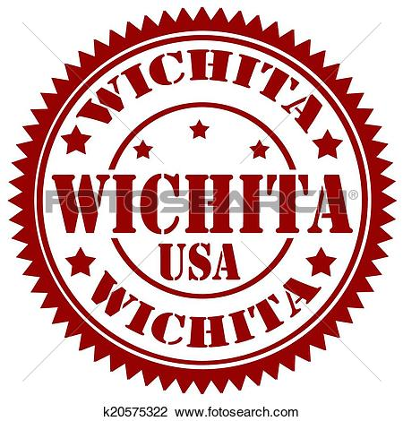 Clipart of Wichita.