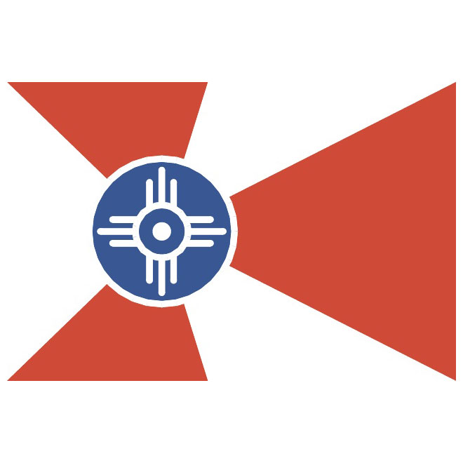 Flag of Wichita.