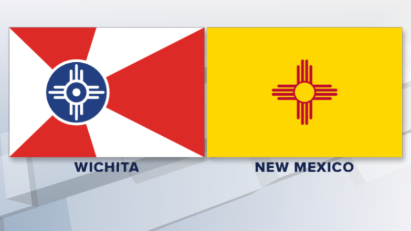 Some argue Wichita's flag steals prominent symbol from NM state flag.