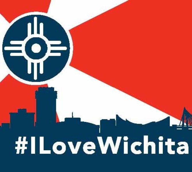 Wichita Flag Murals.