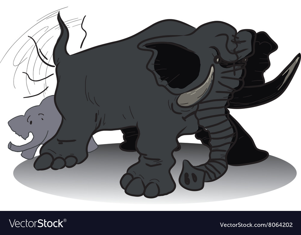 Wicked huge elephant.