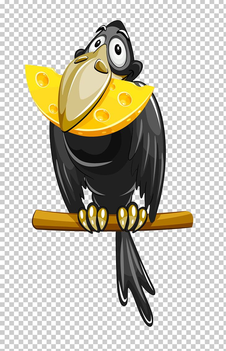 The Fox And The Crow Cheese PNG, Clipart, Animals, Beak.