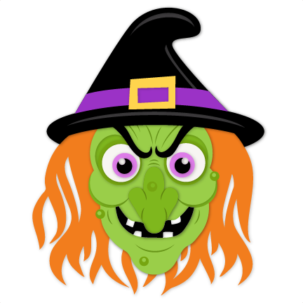 Wicked Witch SVG scrapbook cut file cute clipart files for.
