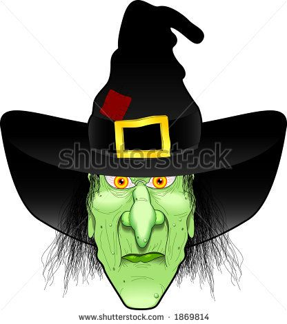 Wicked Witch Clip Art.