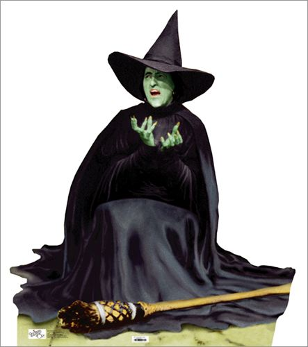 melting wicked witch clip art.