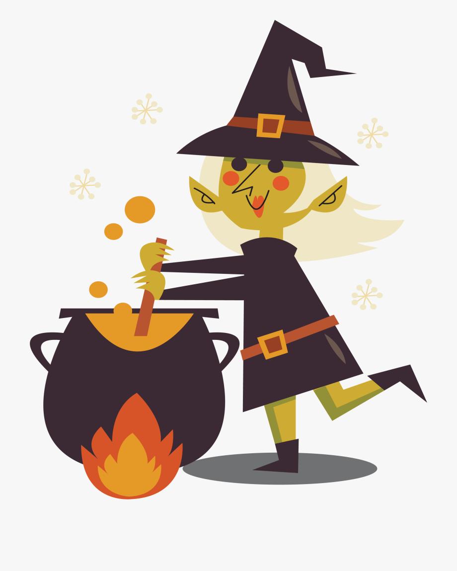 Witch Potion Clip Art.