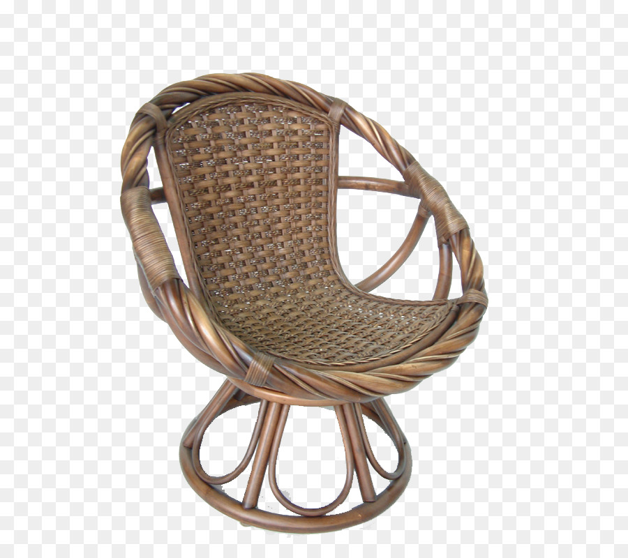 Chair Wicker png download.