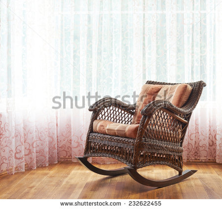 Rocking Chair Stock Photos, Royalty.