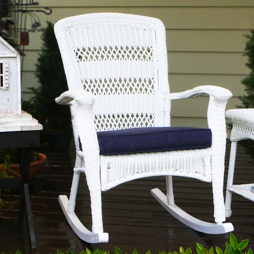 White Rocking Chair. Kids White Rocking Chair. Baxton Studio.