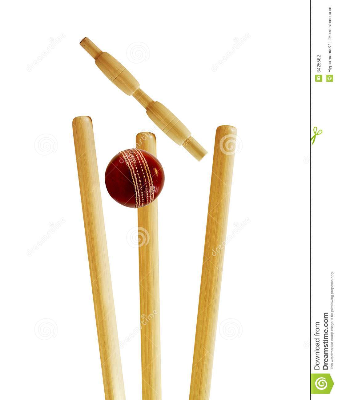 Cricket wicket clipart.