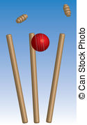 Wickets Clip Art Vector Graphics. 615 Wickets EPS clipart vector.
