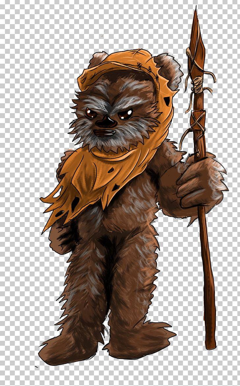 Wicket W. Warrick Ewok Wookieepedia Star Wars Wikia PNG.