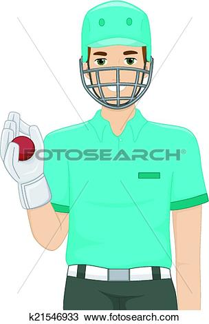 Wicket keeper Clip Art Royalty Free. 46 wicket keeper clipart.
