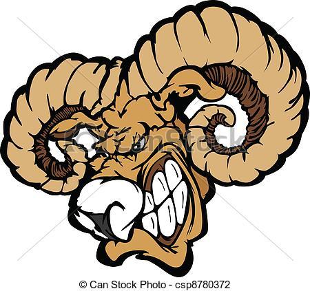 Cartoon Rams Clipart.