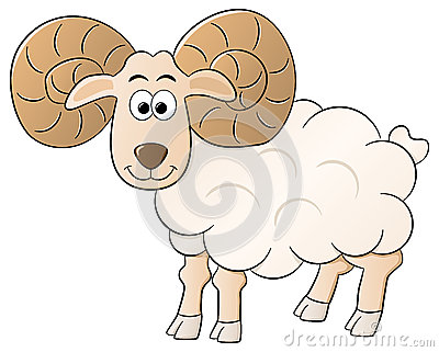 Curly Horned Sheep Stock Illustrations, Vectors, & Clipart.