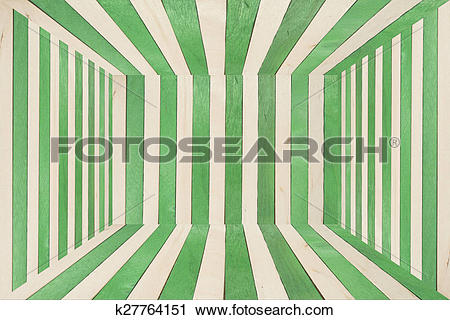 Clipart of Colorful wood room on wide angle view k27764151.