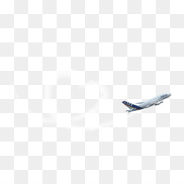 Airplane Banner PNG.