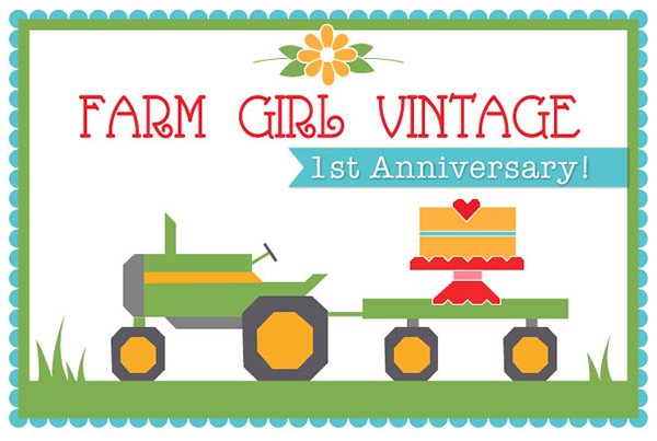 Lori Holt's Farm Girl Vintage Anniversary: Celebrate with A Free.