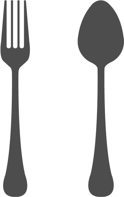 Free Fork And Spoon Clipart Black And White, Download Free.