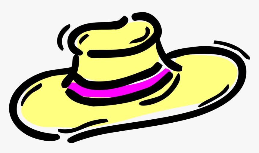 Hat Vector Wide Brim Clipart , Png Download, Transparent Png.