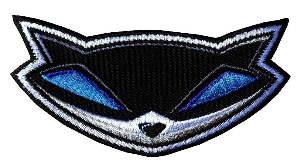 Velcro Sly Cooper Raccoon Thieves Collectible Patch.