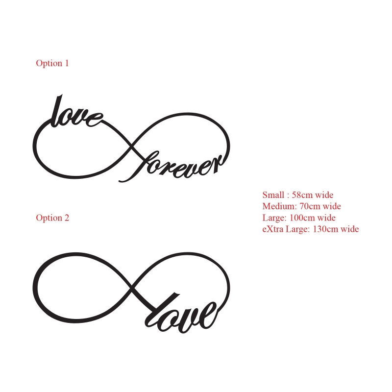 Infinity Sign With Love.