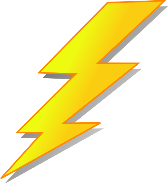 Lightning clipart large, Lightning large Transparent FREE.