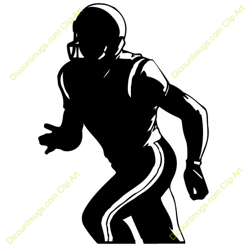 football player wide receiver.