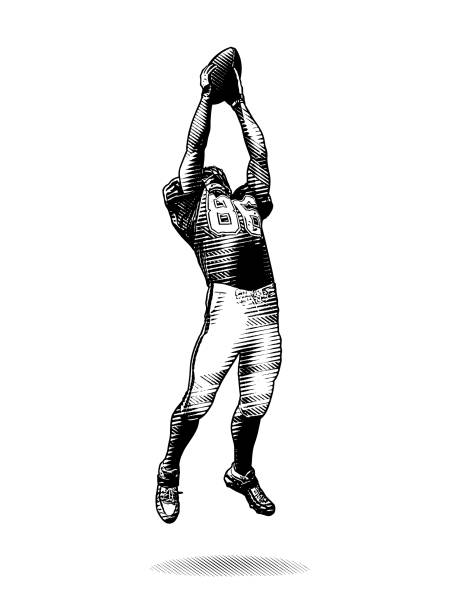 Best Wide Receiver Illustrations, Royalty.