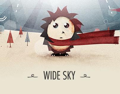 Wide Sky.